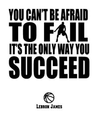 Inspirational Quote Decals/Basketball Wall Decals: All