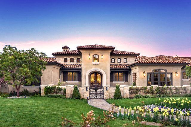 Modern Tuscan Style House Plans Google Search Mediterranean