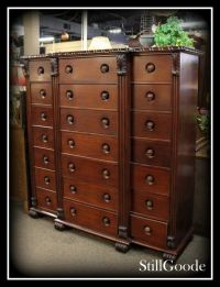 """Oversized """"Gentlemen's"""" 21 drawer chest of drawers by ..."""