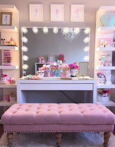 diy makeup room ideas organizer storage and decorating also rh pinterest
