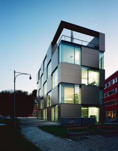 Gorgeous office building design moderndesign ironageoffice http modern buildings pinterest products also rh