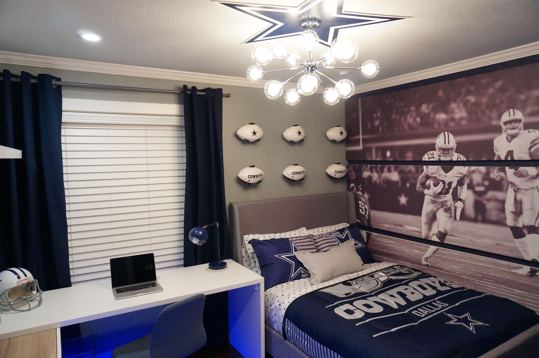 Dallas Cowboys bedroom ideas  Dallas cowboys bedroom