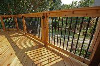 deck railing aluminum balusters - Google Search | House ...