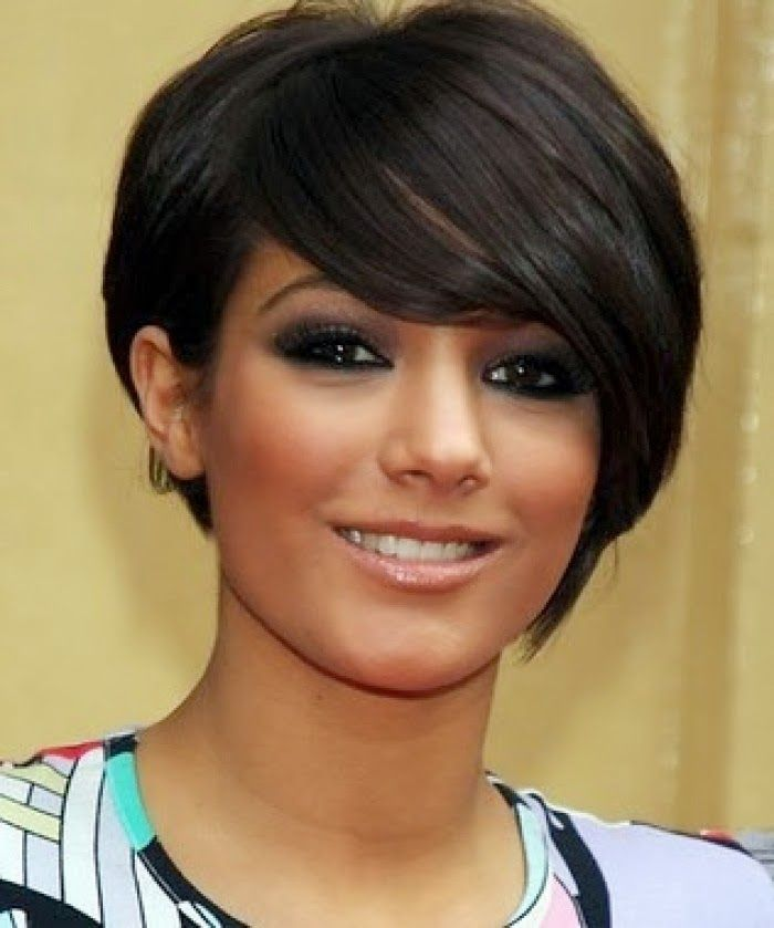 Best Short Hairstyles For Round Faces For Women Thick Hair And