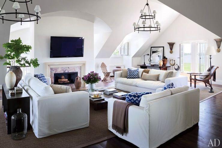 alex sofa montauk dormeo mattress topper architectural digest - living rooms white walls, ...