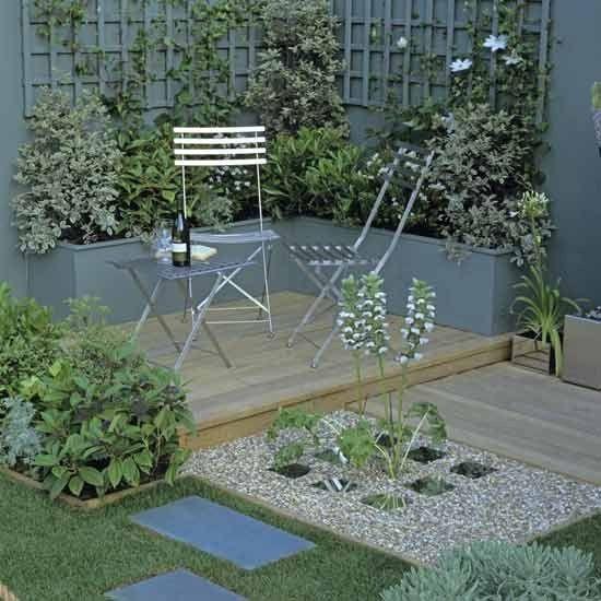Contemporary Garden Garden Pinterest Gardens Table And