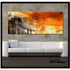 Amazon abstract canvas wall art  limited edition also yimei modern flowers painting for home rh za pinterest