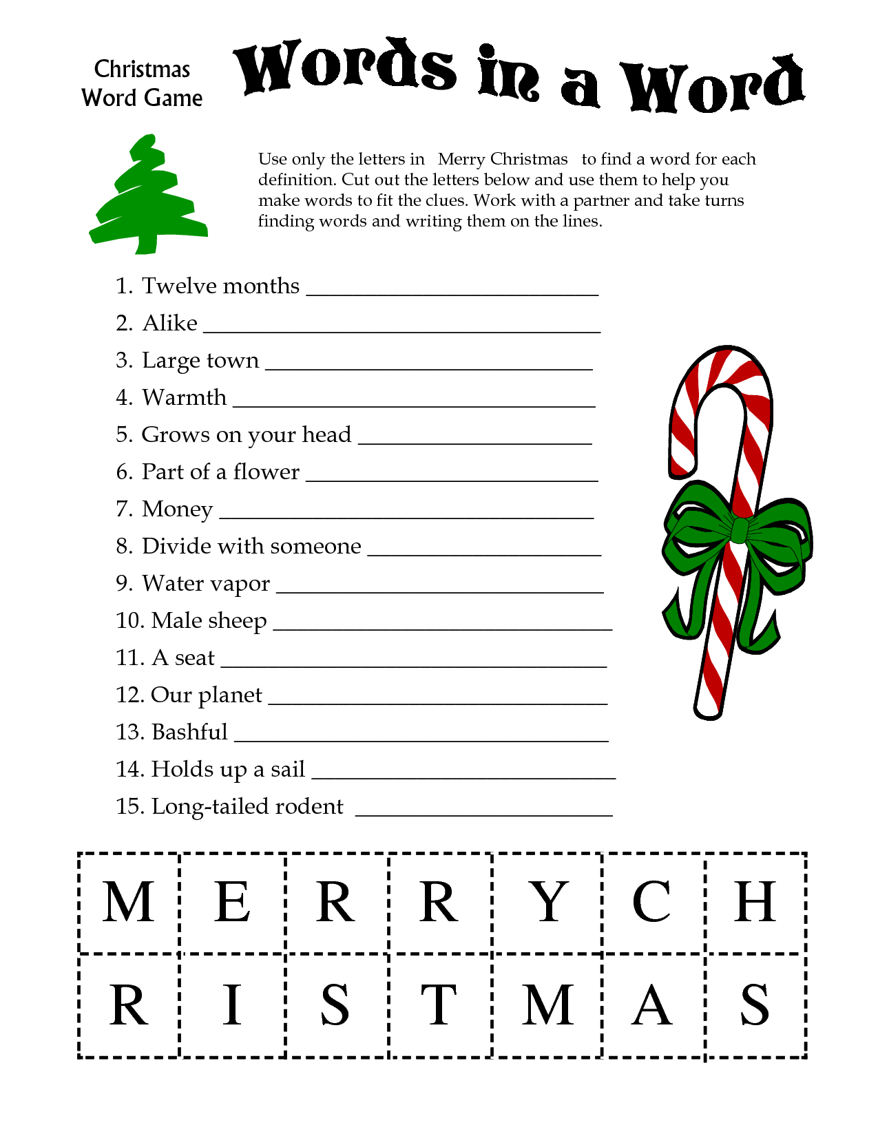 Christmas Activities For Kids