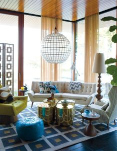 Id contemporary living whitaker also  colorful home pinterest rh