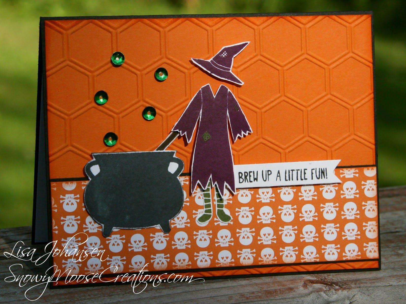 Fms150 Stampin Up Tee-Hee-Hee Snowy Moose Creations: Halloween Fun For  Freshly