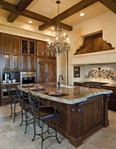 Mediterranean spanish style tuscan kitchen design pictures remodel decor and ideas also these award winning kitchens represent luxury at its finest rh pinterest