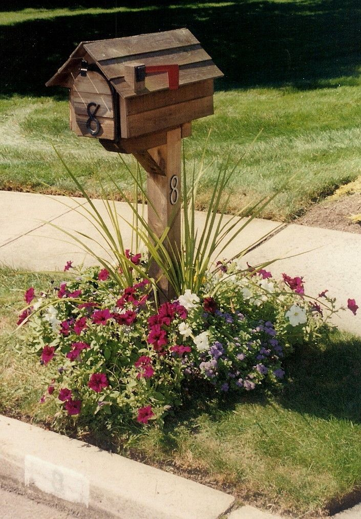 Bed Ideas Mailbox Planting Flower
