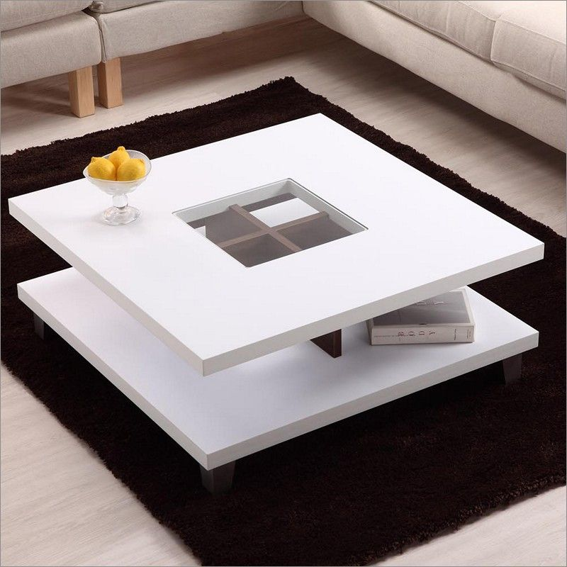 Modern White Coffee Table Modern White Coffee Table With Storage | Coffee Table