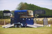 This Horse Trailer Was Converted Into a Mobile Gin Bar ...