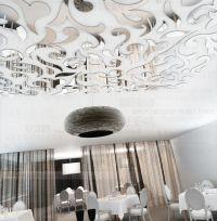 236 ceiling mirror wall sticker home decor art decal ...