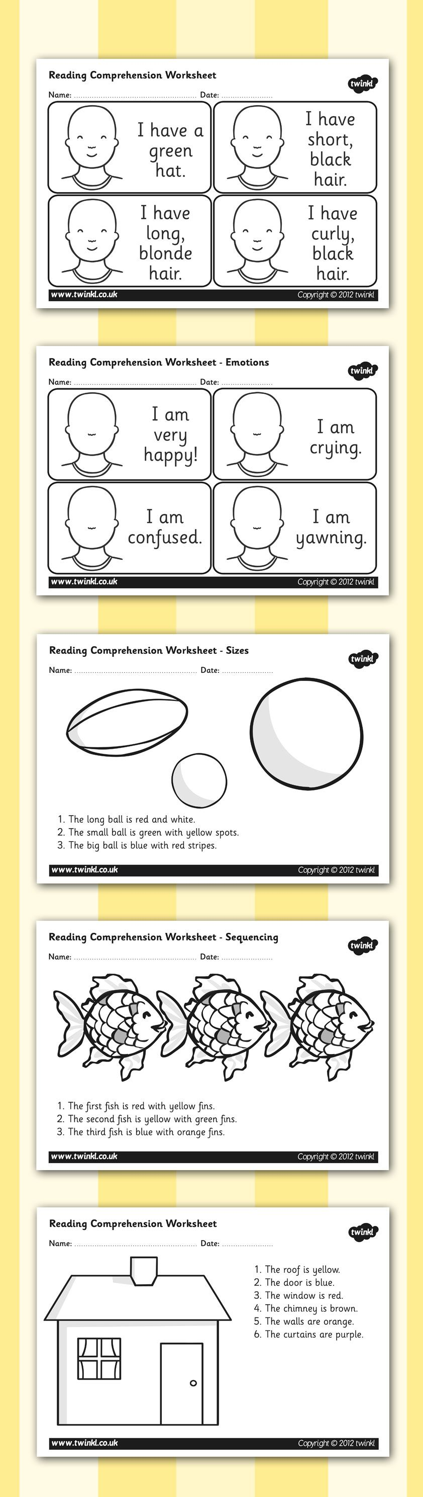 medium resolution of Free Printable French Reading Comprehension Worksheets