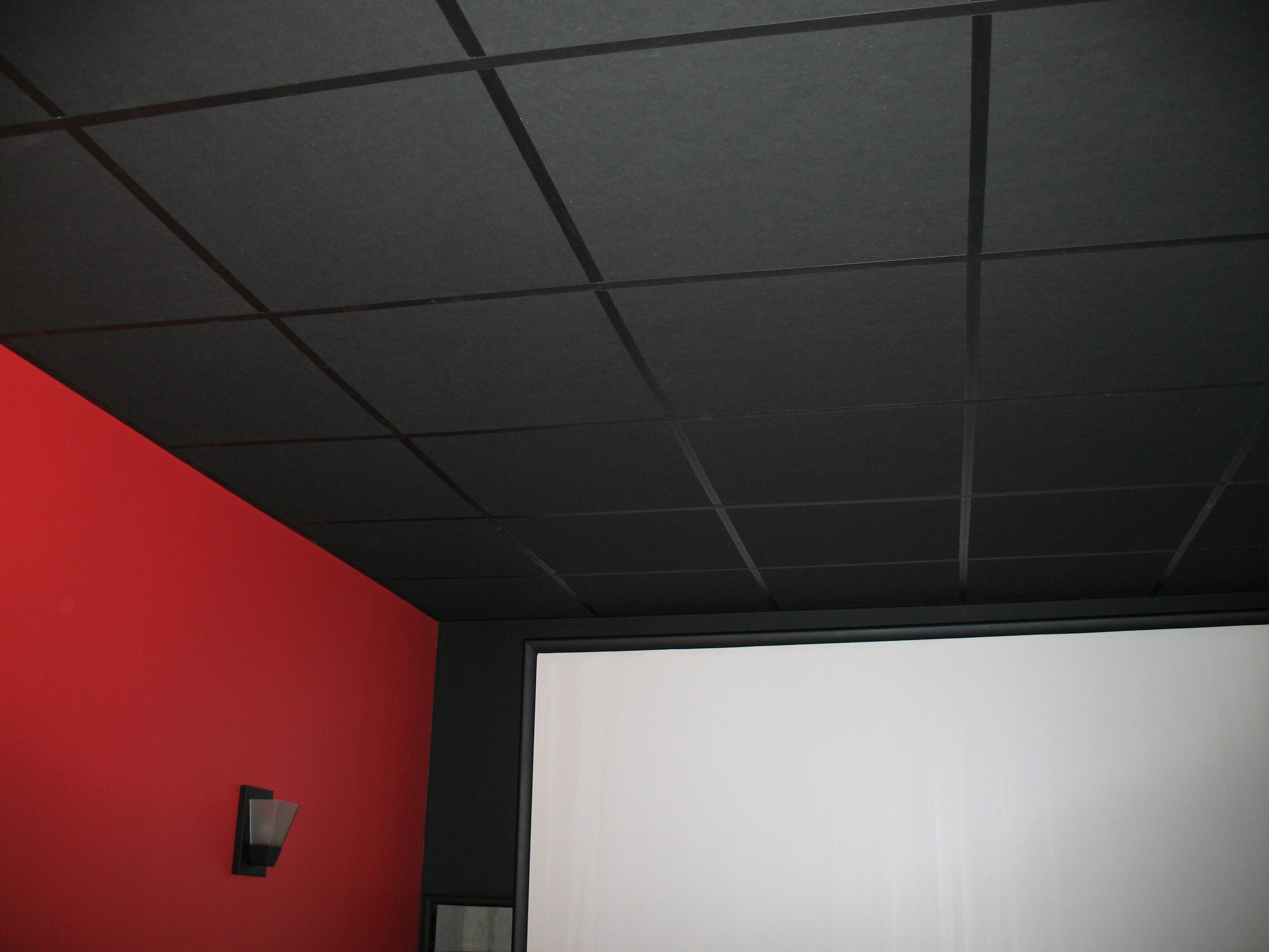Acoustic Ceiling Tiles Home Depot