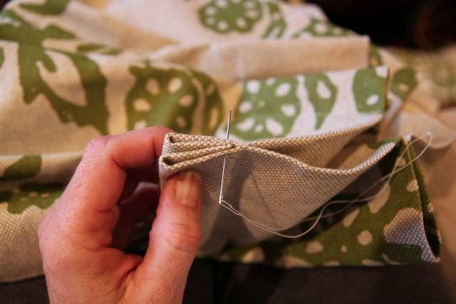 How To Pinch Pleat Store Bought Curtains DIY Pinterest Make