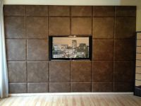 Acoustic Padded Wall Panels Feature Wall Custom Size ...