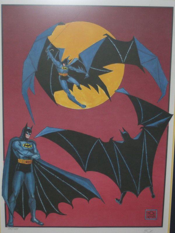 Bob Kane Batman Art