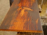 Reclaimed Tobacco Pine Flooring with a tung oil finish ...