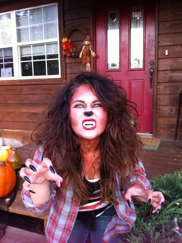 Werewolf Girl Costume. Special Fx