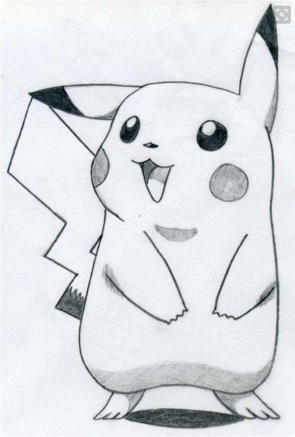 Pikachu From Pokemon Painting Ideas Pinterest