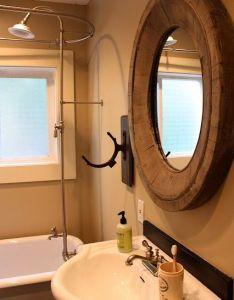Guys bathroom also omg that mirror home decor pinterest chats savannah house and rh