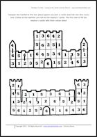 heraldy for kids activity sheet conquer the castle (I