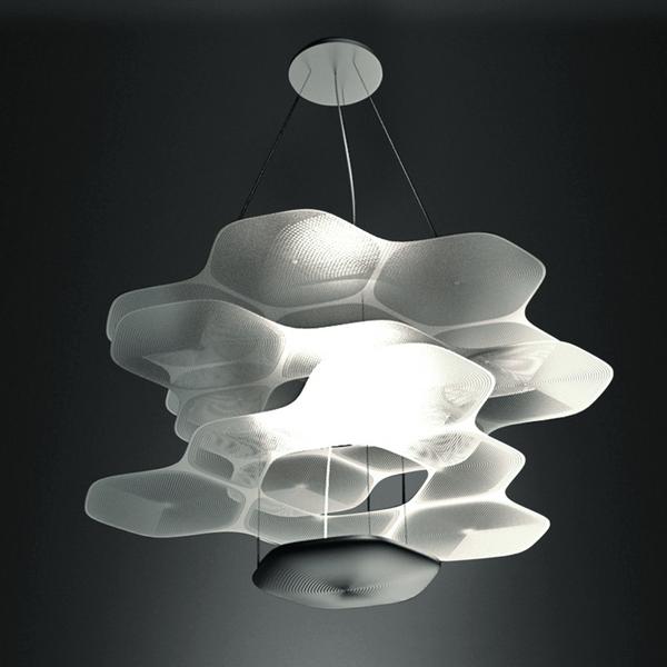 Artemide Design Neuheit 2017 E Cloud Pendelleuchte Ross Lovegrove