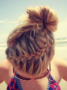 Cute And Easy Hairstyles For The Beach Step By Step Google