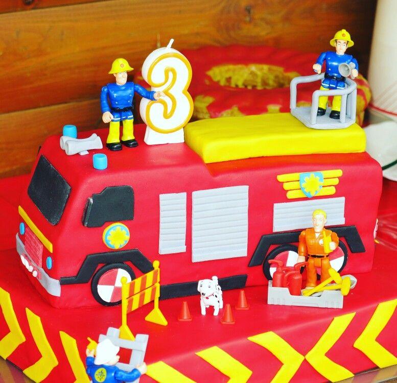 Feuerwehrmann Sam Torte  Cakes  Pinterest  Kuchen Cake