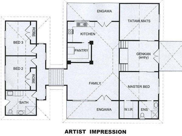 Japanese House Design The Tea Clark New Homes Home Design