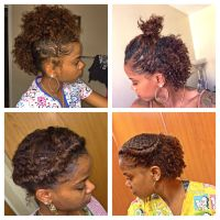 6 CUTE HAIRSTYLES FOR A BRAID OUT | SHORT HAIR | NATURAL ...