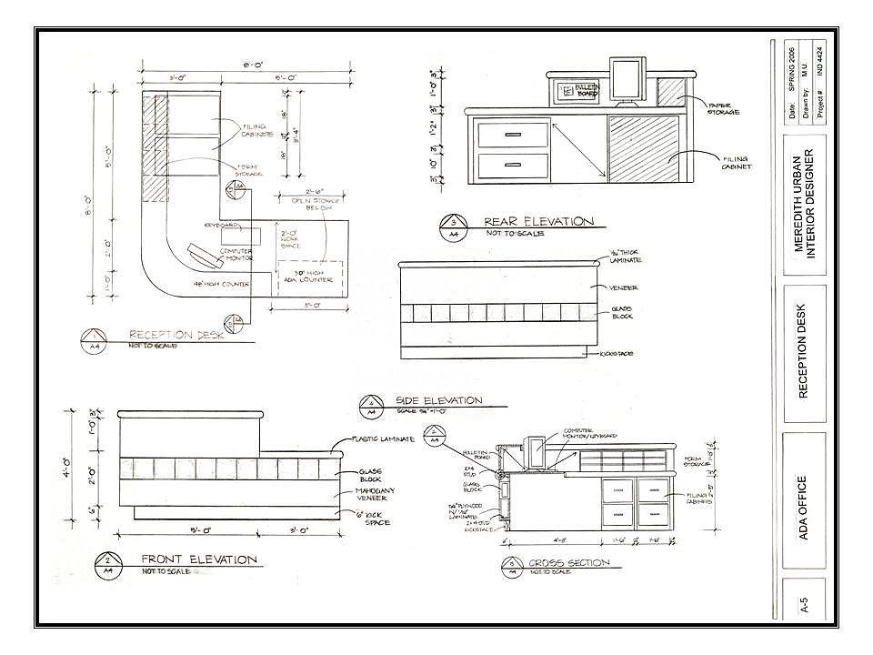 dimensions of a reception desk  Recherche Google