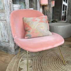 Bedroom Chair Pink Velvet Wedding Covers Dundee Gubi Beetle Lounge In Bohemian Decor
