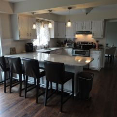 Pinterest Kitchen Remodel Ideas Inexpensive Remodels Before And After Small U Shaped  Office