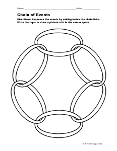 Chain of Events Sequencing Organizer « Freeology.com