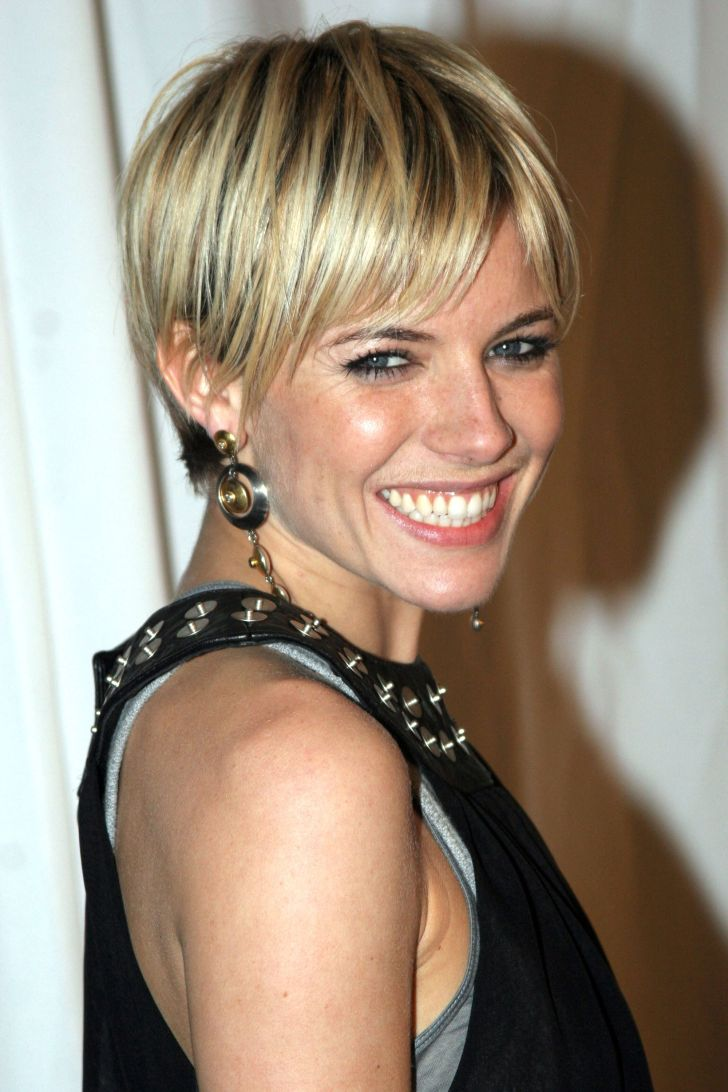 Short Hairstyle: Celebrity Short Hairstyles. Desktop Celebrity Short Hairstyles Of Hairstyles Mobile Hd Pics The Top Pixie Haircuts All Time Sienna Miller