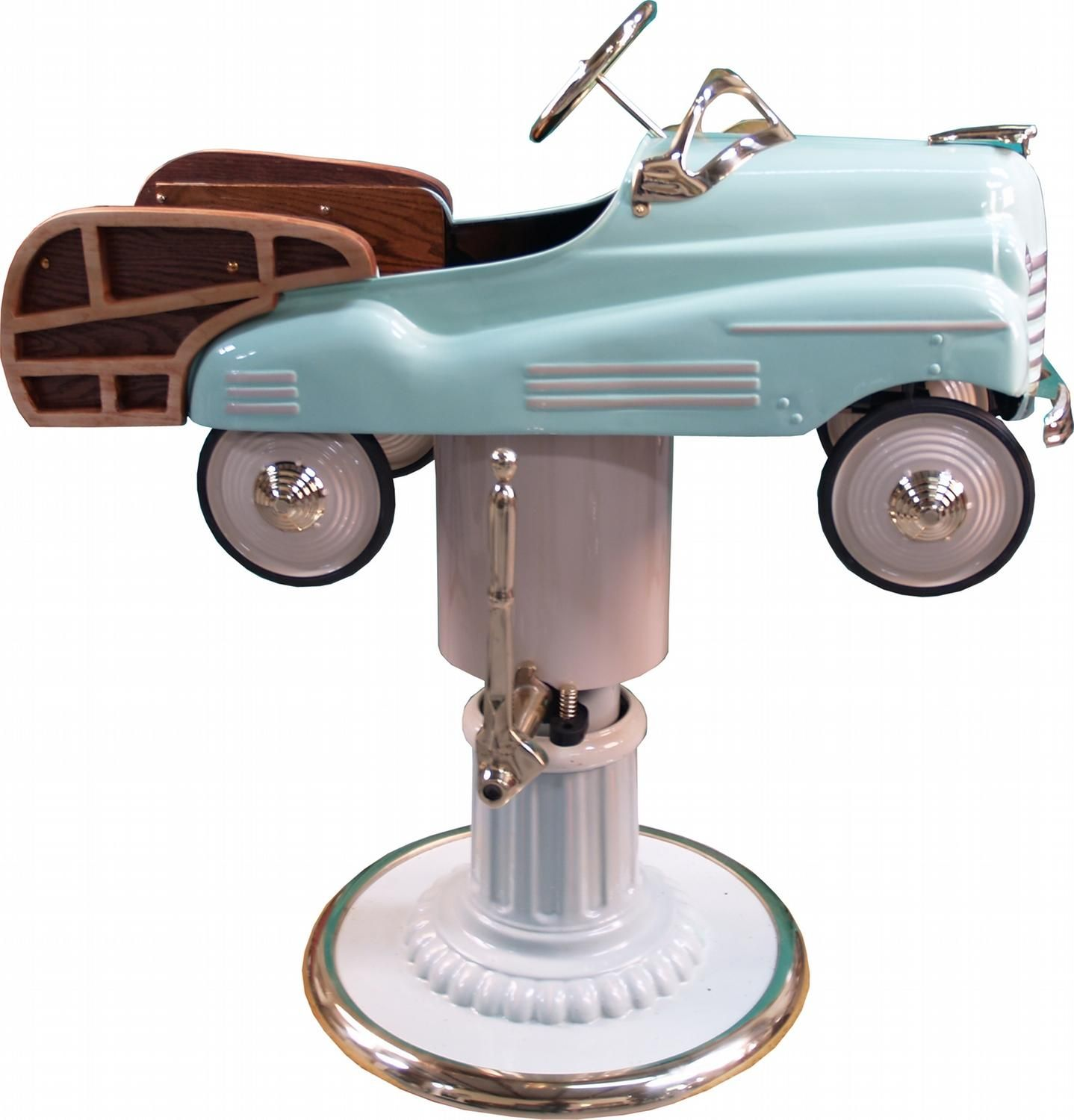 Old School Barber Chair Childs 39 Pedal Car Barber Chair Woodie Home Ideas