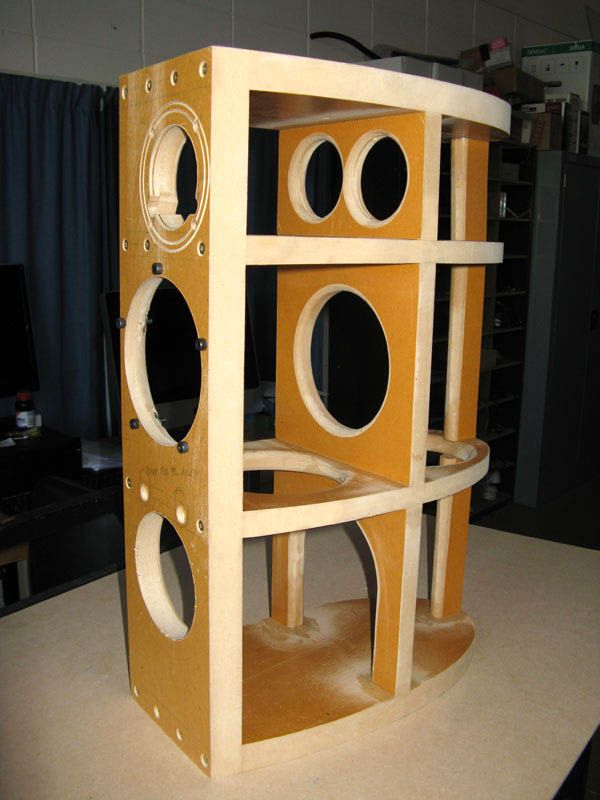 Clearwave Rbr Curved Cabinet Build Diyaudio