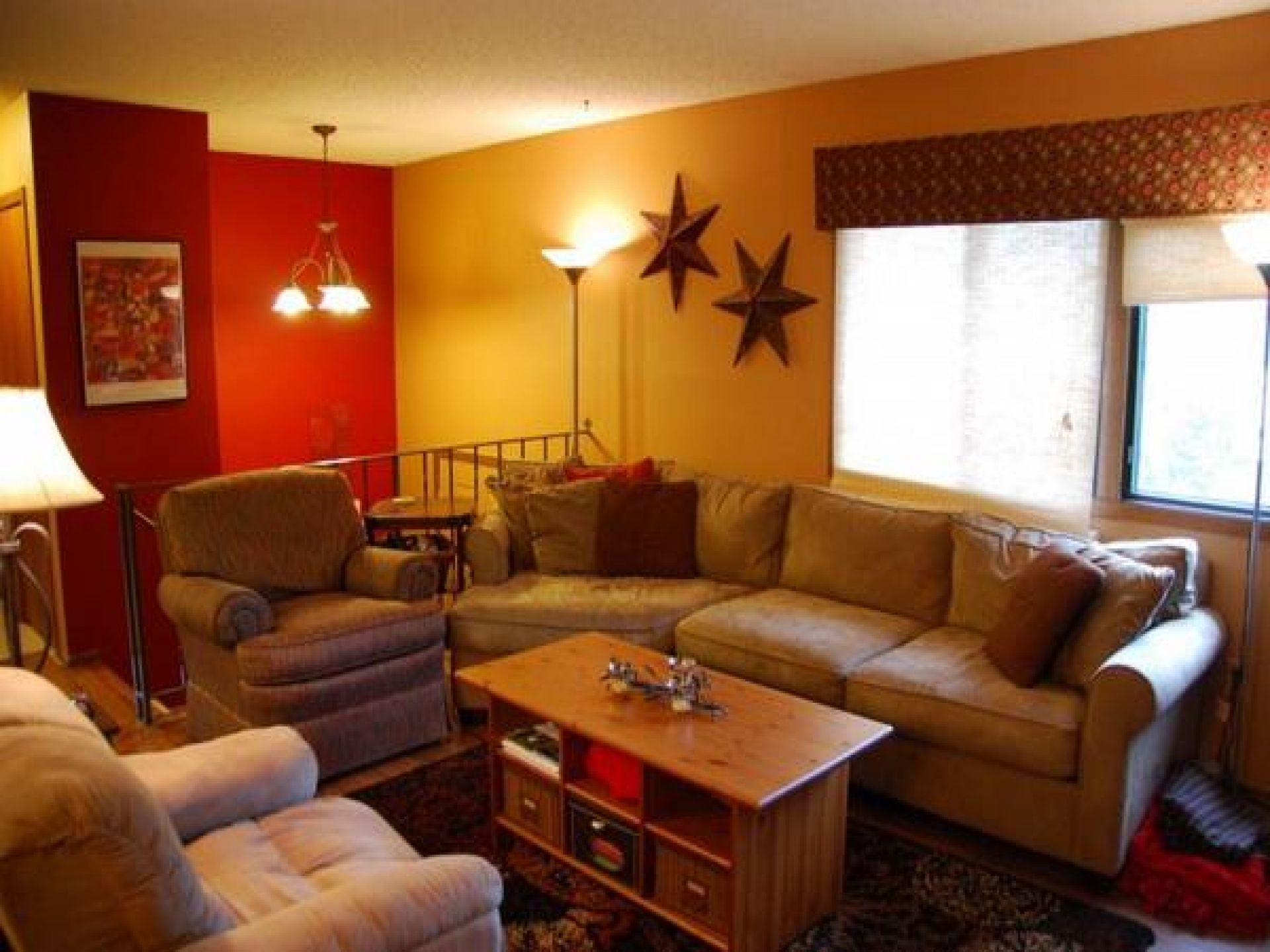 Living room agreeable yellow wall colors ideas elegant tan couch feat red also rh pinterest