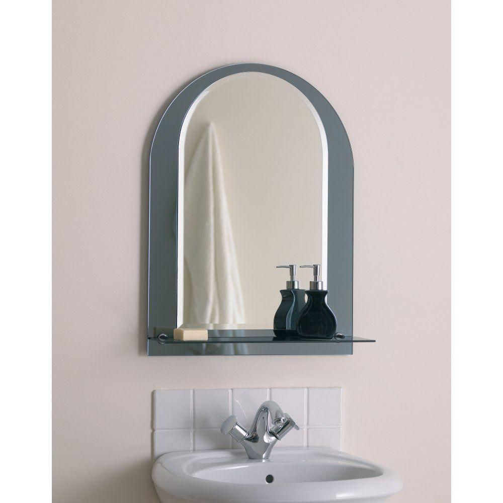 Bathroom Mirror with Shelf