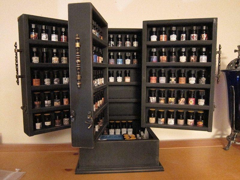 Essential Oil Storage Cabinet