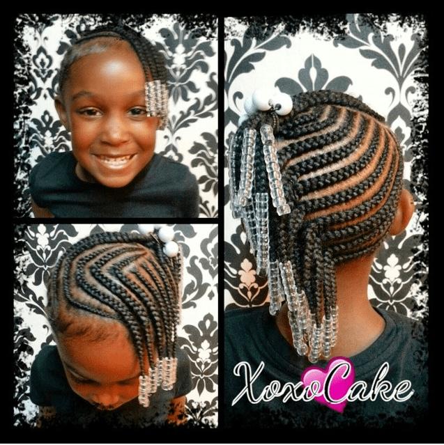 Little Black Girl Braid Hairstyles Google Search Baby Girl