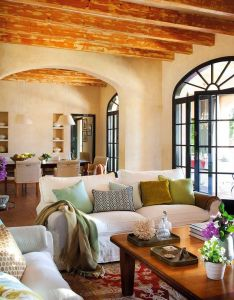 warm relaxed mood permeates every inch of this gorgeous family home on the island menorca off coast spain also josep juanpere que tal una casa en tepoz cuerna  valle como rh pinterest