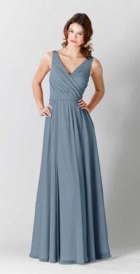 20 Slate Blue Bridesmaid Dresses Worth Obsessing Over ...