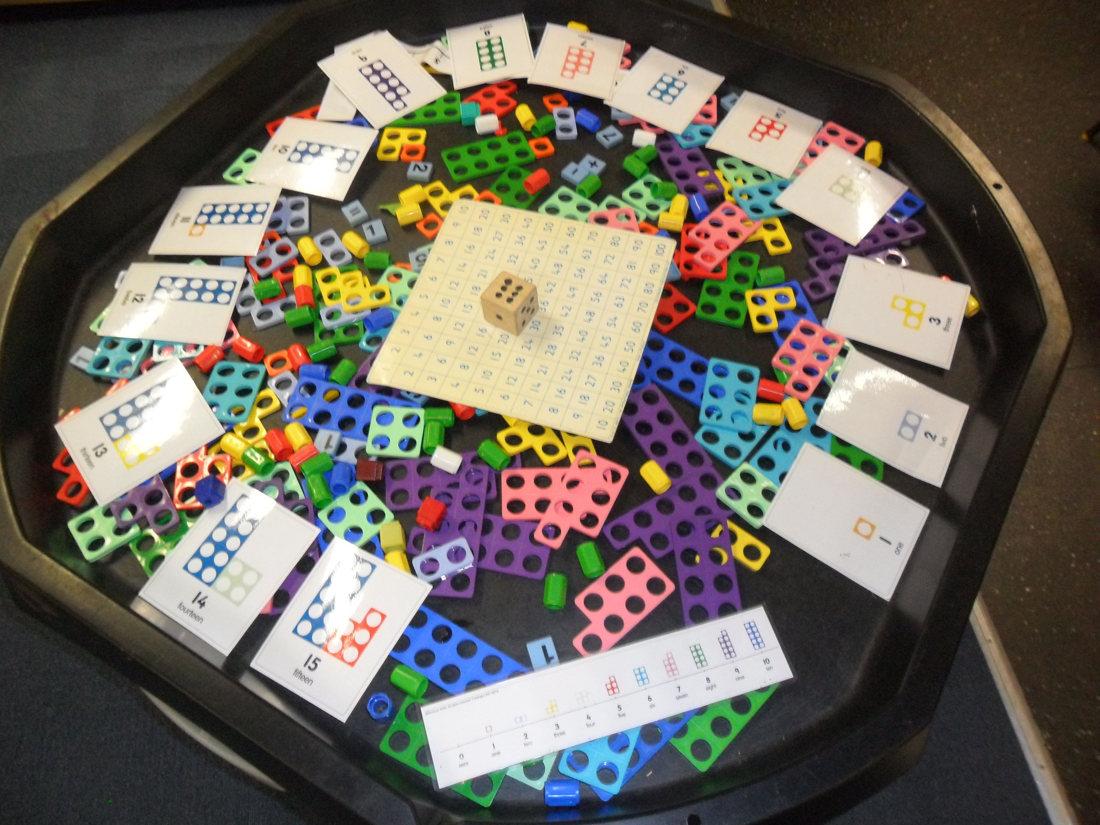 Making Teen Numbers With Numicon In The Tuffspot