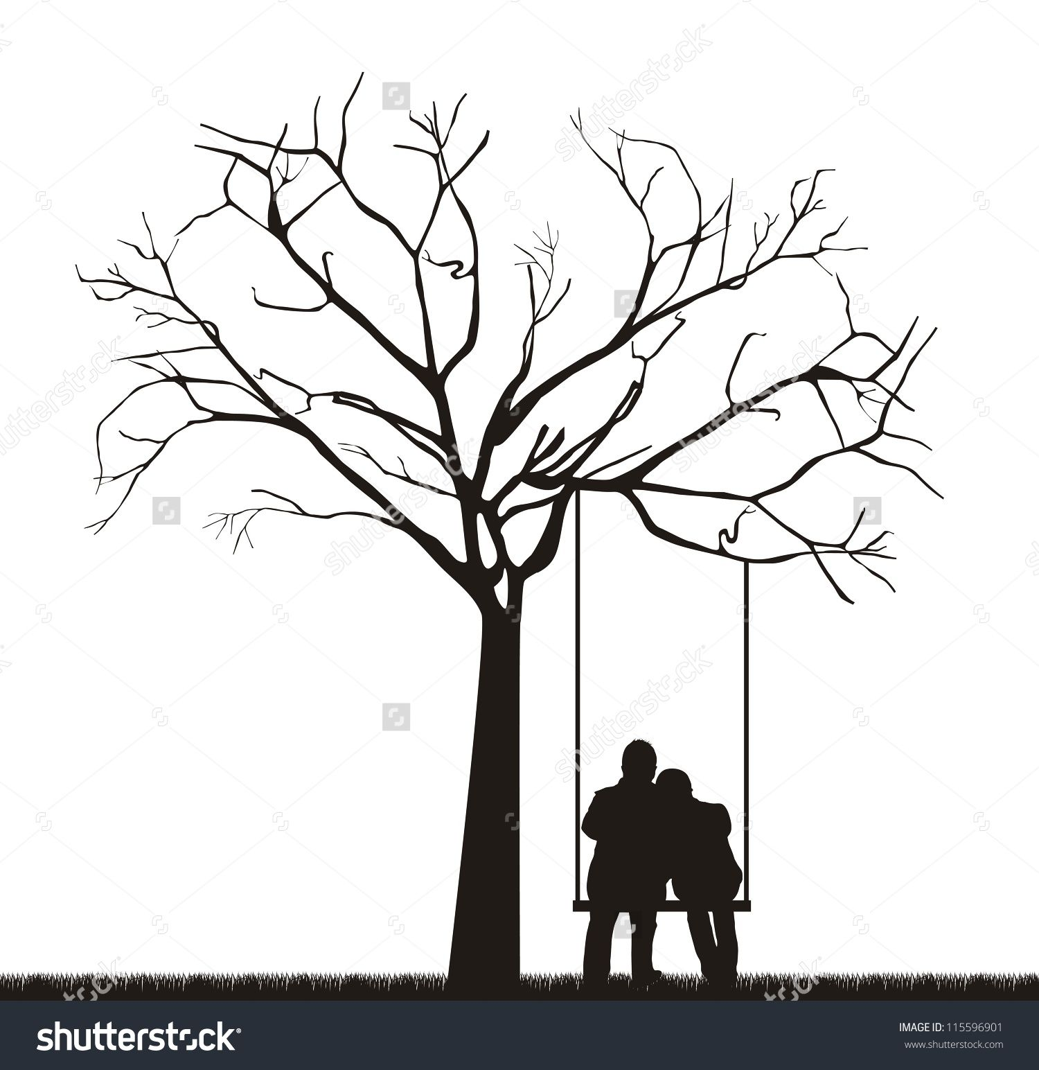 swing chair drawing cheap covers for weddings couple under a tree google search
