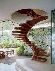 Spiral staircase design is commonly built to represent the luxurious accent in house also one of many solution saving space designpass wooden stairs bathing mood pinterest rh
